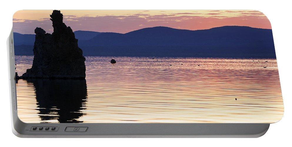 Mono Lake Portable Battery Charger featuring the photograph Mono Lake California by Jason O Watson