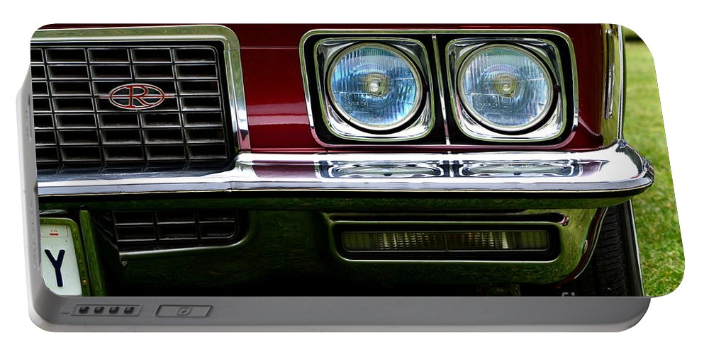 Street Portable Battery Charger featuring the photograph Buick Riviera by Dean Ferreira