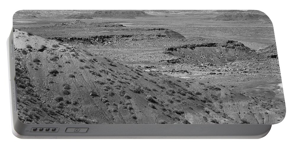 66 Portable Battery Charger featuring the photograph Painted Desert by Frank Romeo