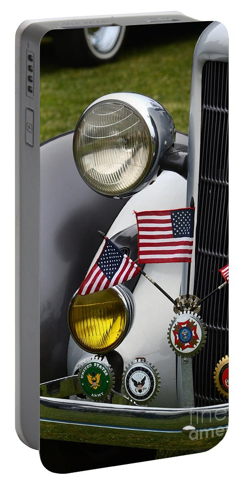 Classic Portable Battery Charger featuring the photograph Classic Dodge by Dean Ferreira