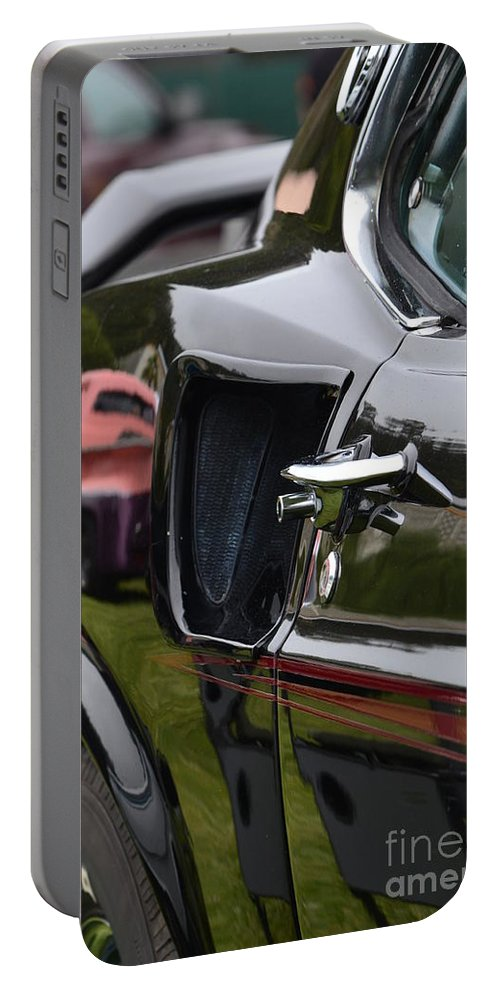 Mustang Portable Battery Charger featuring the photograph Mach-1 by Dean Ferreira
