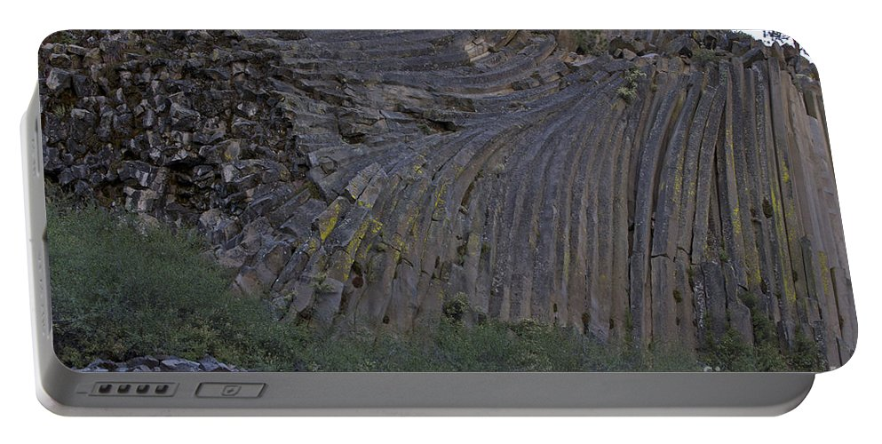 Devils Postpile Portable Battery Charger featuring the photograph Devils Postpile National Monument by Jason O Watson