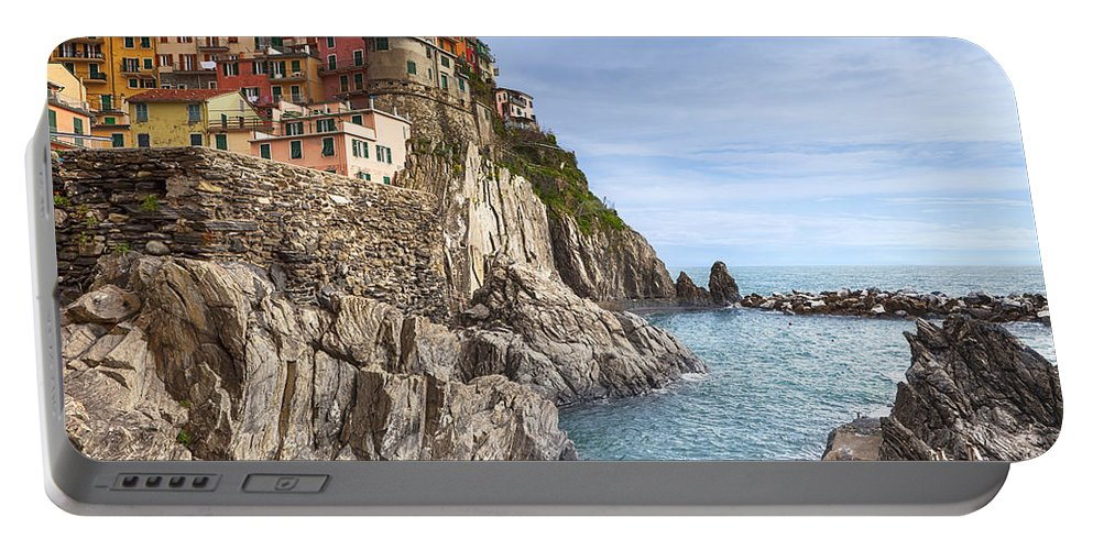 Manarola Portable Battery Charger featuring the photograph Manarola by Joana Kruse