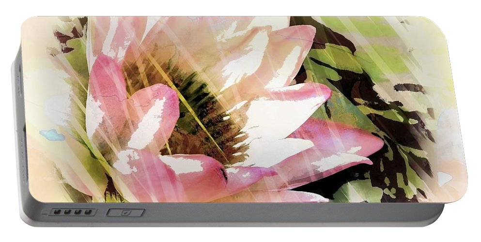 Water Lily Portable Battery Charger featuring the photograph Water Lily by Joyce Baldassarre