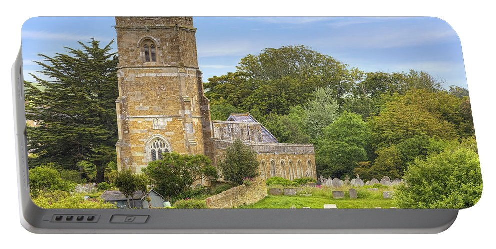 Parish Portable Battery Charger featuring the photograph Abbotsbury by Joana Kruse