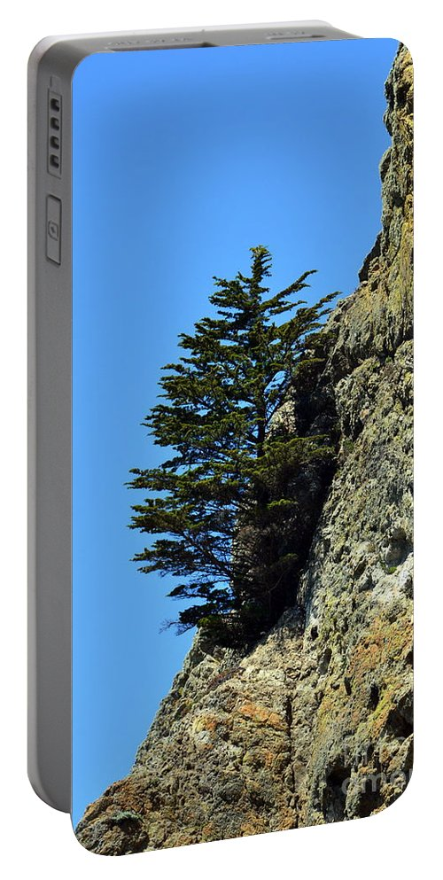 Northern Portable Battery Charger featuring the photograph Devil's Slide Hike by Dean Ferreira