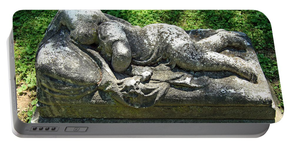 Child Portable Battery Charger featuring the photograph A Child Sleeps by Cora Wandel