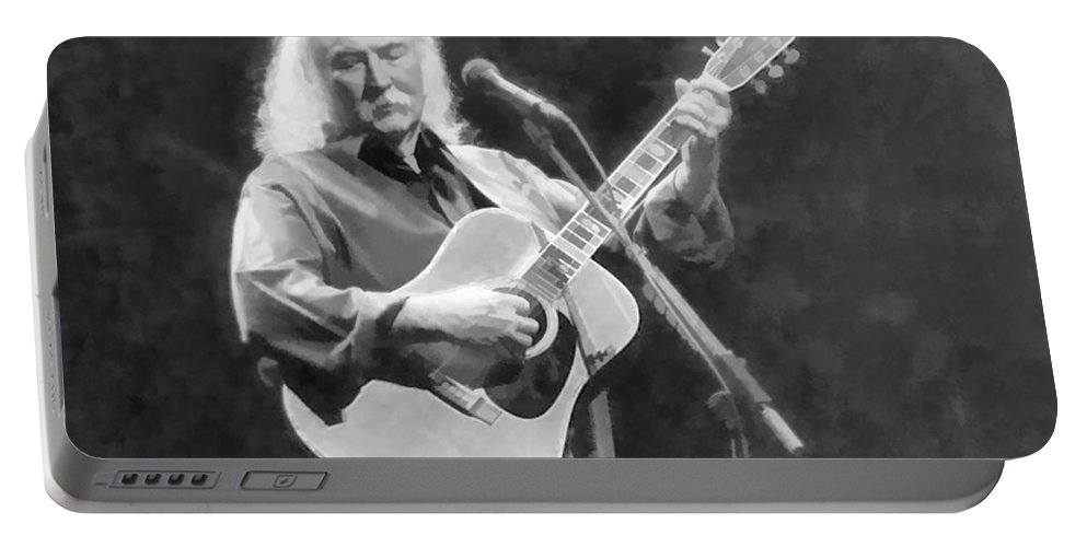 Crosby Stills Nash Concert Portrait Portable Battery Charger featuring the photograph A Classic Forevermore by Alice Gipson