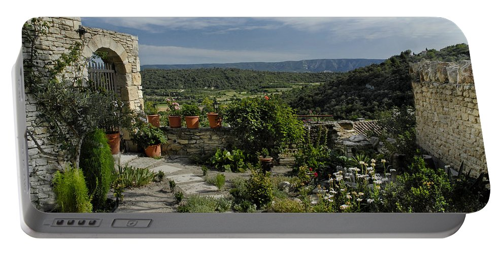 France Portable Battery Charger featuring the photograph A Commanding View by Dave Mills