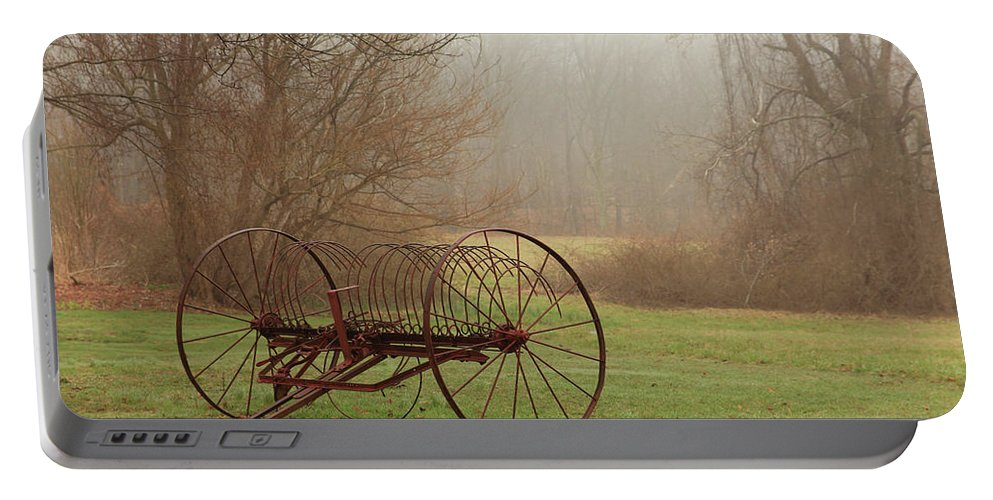 Country Portable Battery Charger featuring the photograph A Country Scene by Karol Livote