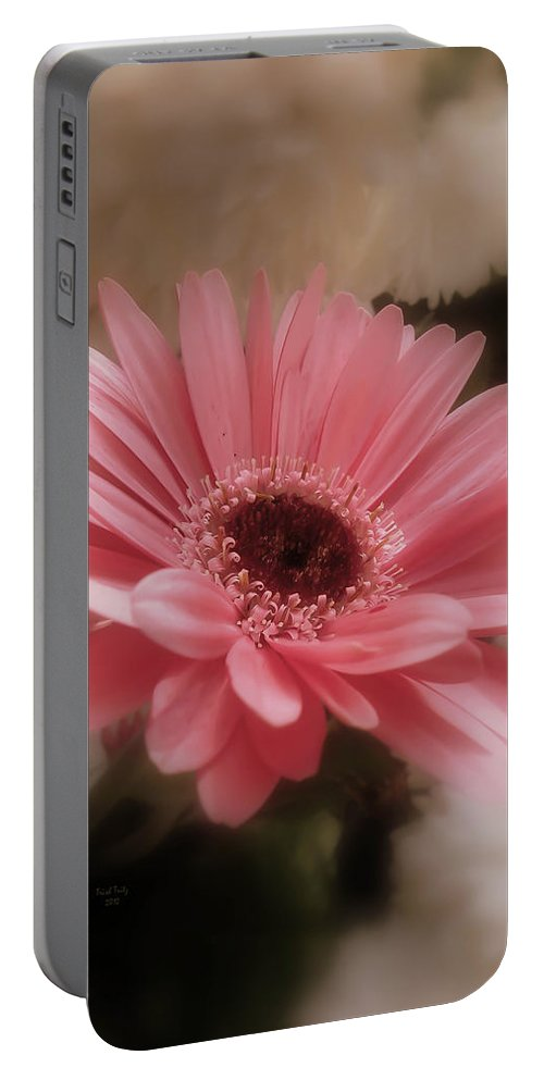 Flower Portable Battery Charger featuring the photograph A Flower For Brooke by Trish Tritz