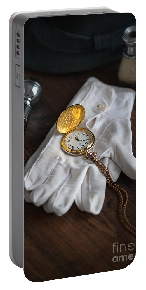 White Gloves Portable Battery Charger featuring the photograph A Night At The Opera by Lee Avison