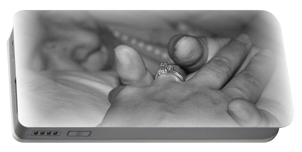 Mi Mama Portable Battery Charger featuring the photograph A Shell Of Her by Marianne Jimenez
