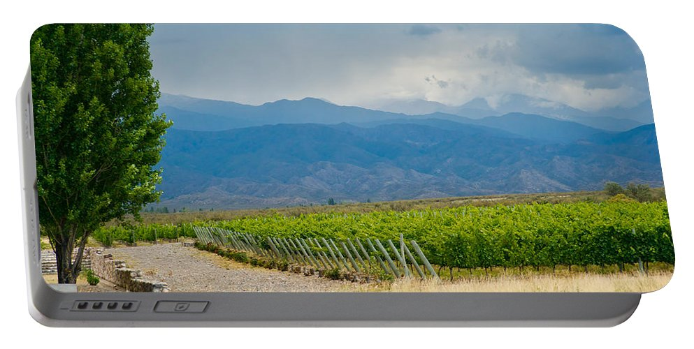 Vines Portable Battery Charger featuring the photograph Storm On The Horizon by Kent Nancollas