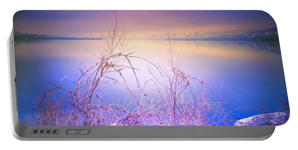 Sunrise Portable Battery Charger featuring the photograph A Sunday Sunrise by Tara Turner