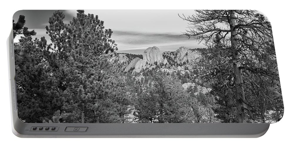 Guy Whiteley Photography Portable Battery Charger featuring the photograph A View From Estes Park by Guy Whiteley