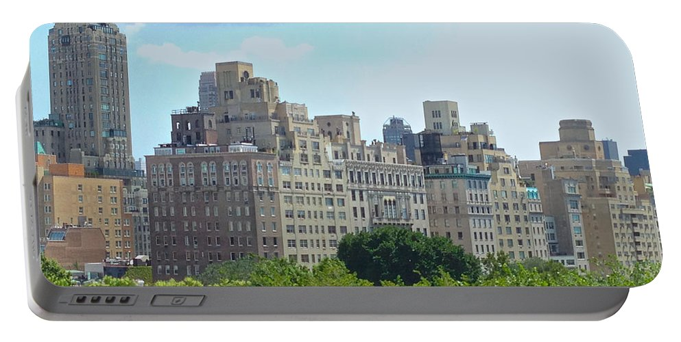 Met Portable Battery Charger featuring the photograph A View From The Met by Christy Gendalia