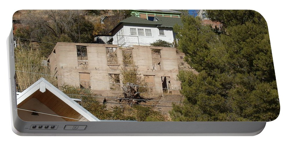 Bisbee Portable Battery Charger featuring the photograph Abandoned by David S Reynolds