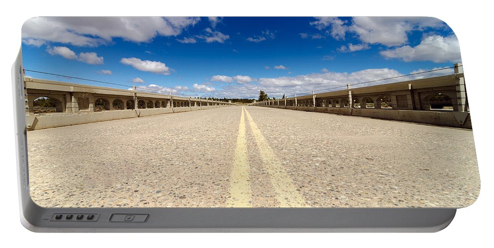 Highway Portable Battery Charger featuring the photograph Abandoned Highway by Jess Kraft