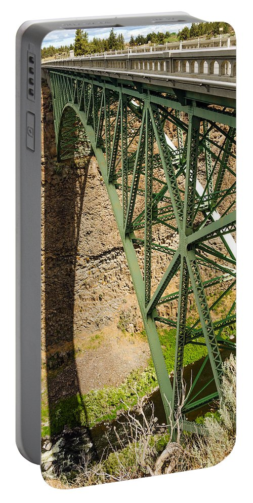 Bridge Portable Battery Charger featuring the photograph Abandoned Highway Vertical by Jess Kraft