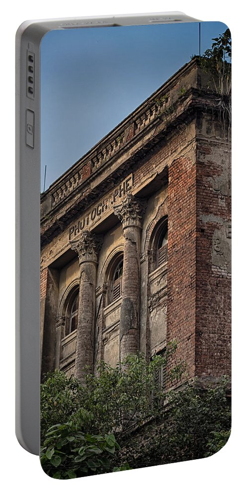 India Portable Battery Charger featuring the photograph Abandoned Photograph by Scott Wyatt