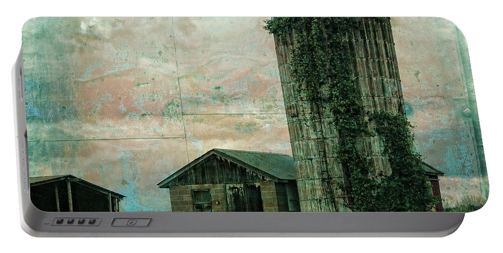 Old Portable Battery Charger featuring the photograph Abandoned by Rhonda Barrett