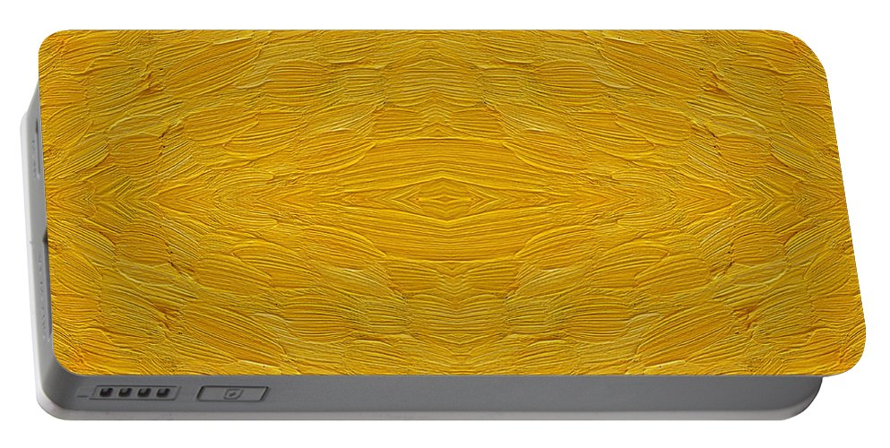 Abstract Portable Battery Charger featuring the painting Abstract 494 by Patrick J Murphy