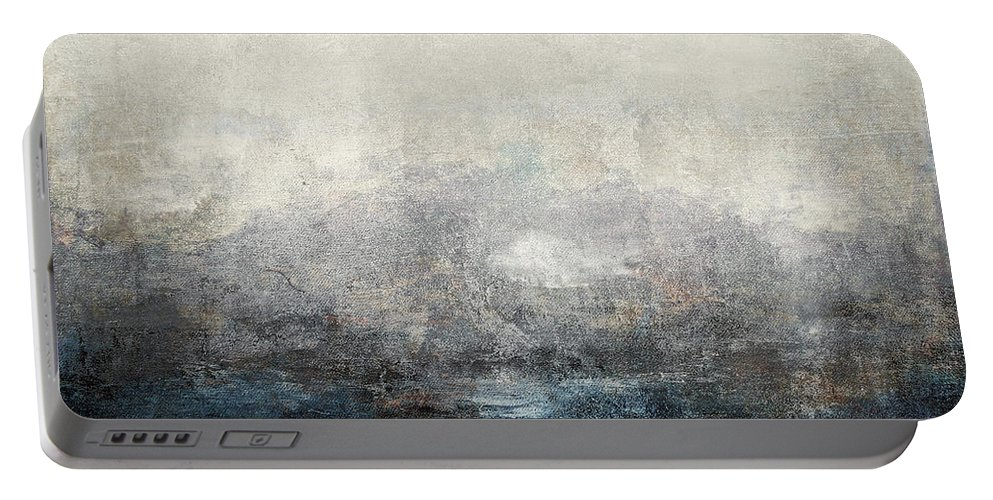 Abstract Portable Battery Charger featuring the digital art Abstract Print 9 by Filippo B