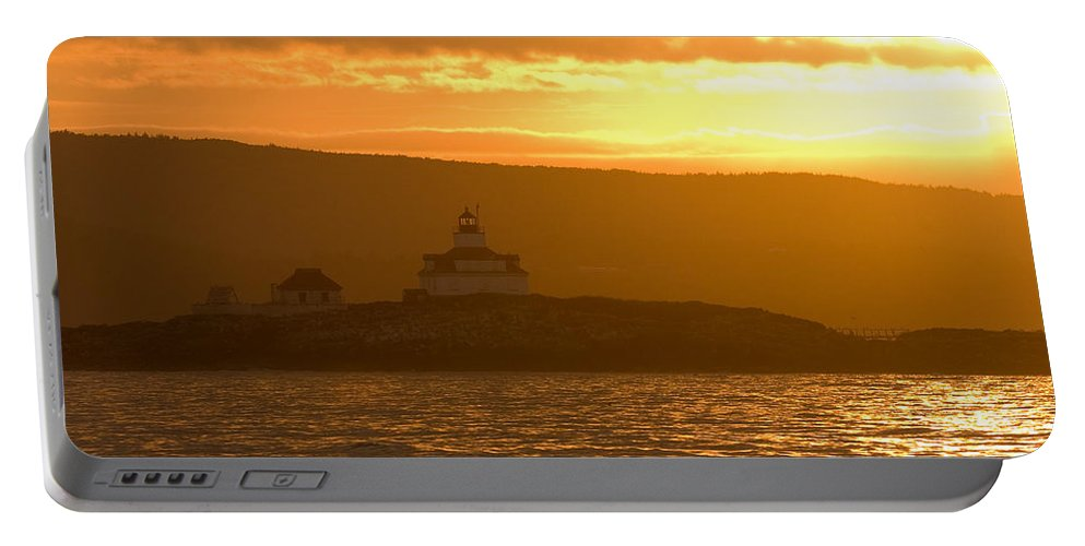 Acadia National Park Portable Battery Charger featuring the photograph Acadia Lighthouse by Sebastian Musial