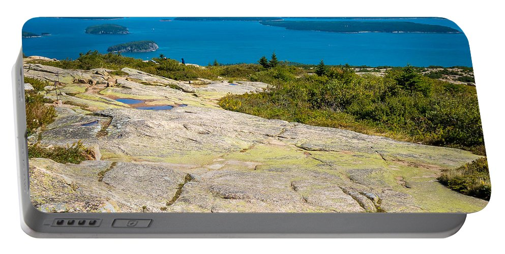 Maine Portable Battery Charger featuring the photograph Acadia Views by DAC Photo
