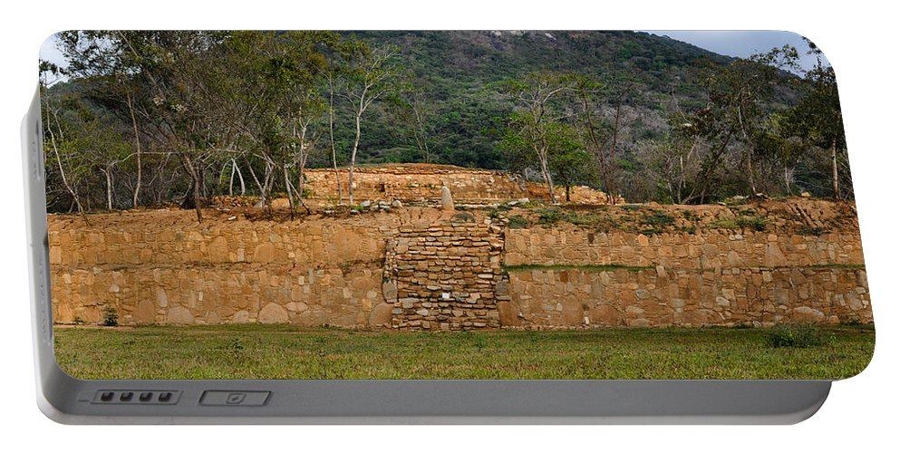Acapulco Portable Battery Charger featuring the photograph Acapulco Mexico Archaeological Site by Brandon Bourdages