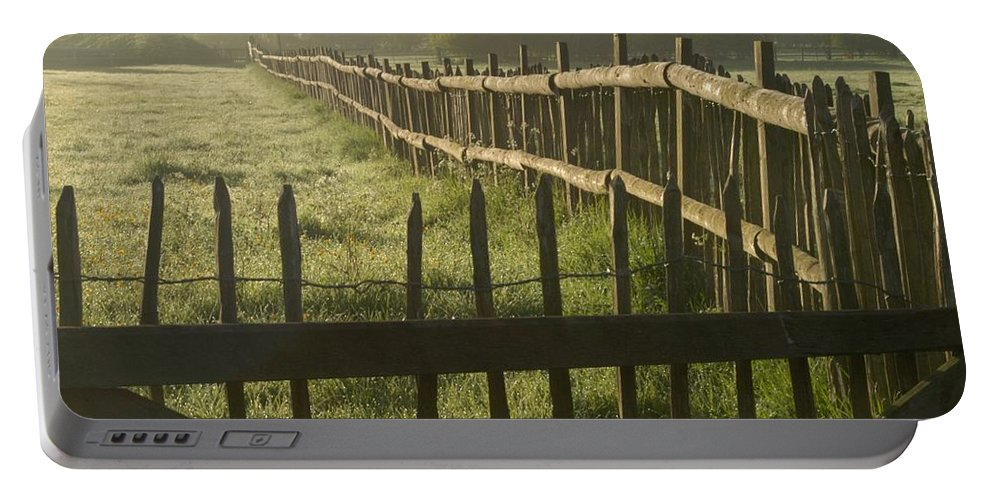 England Portable Battery Charger featuring the photograph Across From Yarnton by Joseph Yarbrough