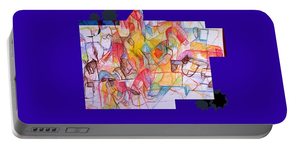 Torah Portable Battery Charger featuring the digital art Benefit Of Concealment 1a 2nd by David Baruch Wolk