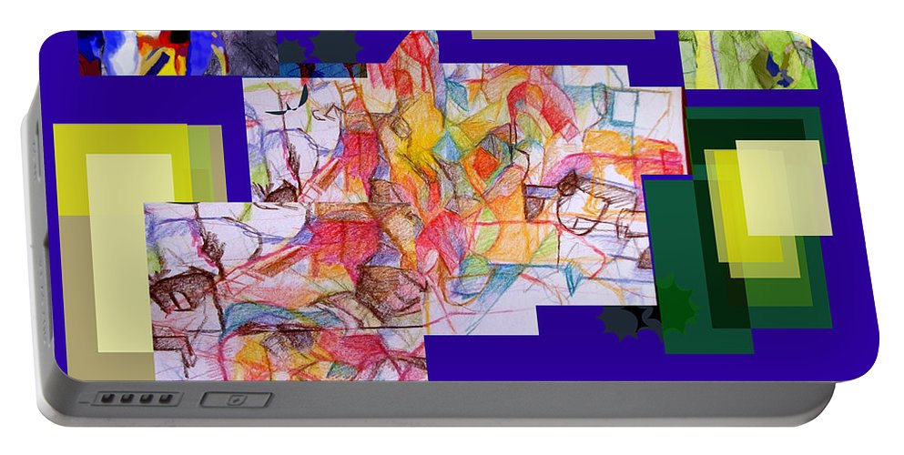 Torah Portable Battery Charger featuring the digital art Benefit Of Concealment 2 by David Baruch Wolk