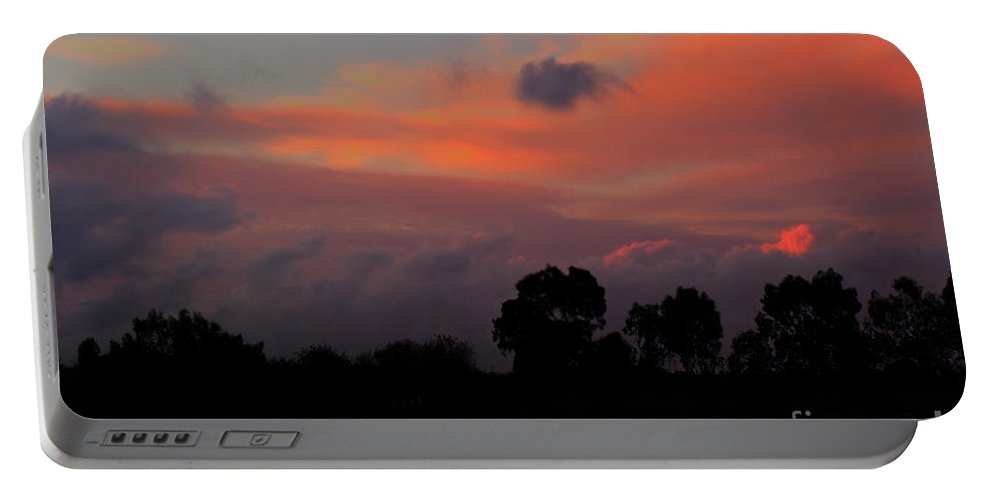 Storm Portable Battery Charger featuring the photograph After The Storm by Jacklyn Duryea Fraizer