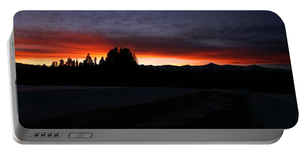 Sunsets Portable Battery Charger featuring the photograph After The Storm by Jeremy Rhoades