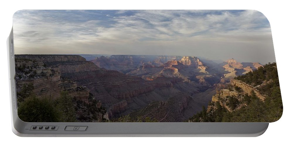 Grand Canyon Portable Battery Charger featuring the photograph Afternoon At The Canyon by Brian Kamprath