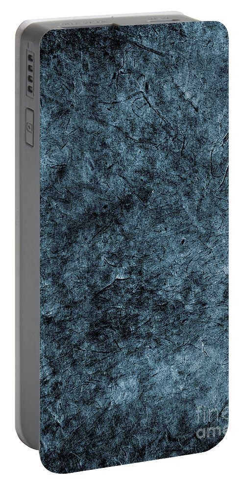 Abstract Portable Battery Charger featuring the photograph Aged Paper Texture by Tim Hester
