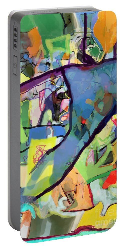 Torah Portable Battery Charger featuring the digital art Self-renewal 15s by David Baruch Wolk