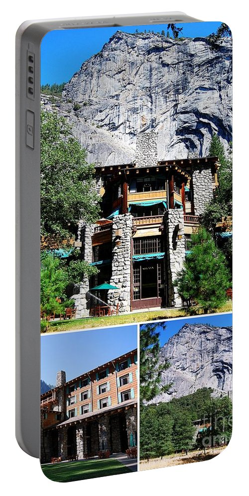 Ahwahnee Hotel Portable Battery Charger featuring the photograph Ahwahnee Hotel In Yosemite National Park by Catherine Sherman