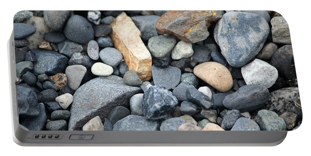 Rock Portable Battery Charger featuring the photograph Alaskan Sand II by Stacey May