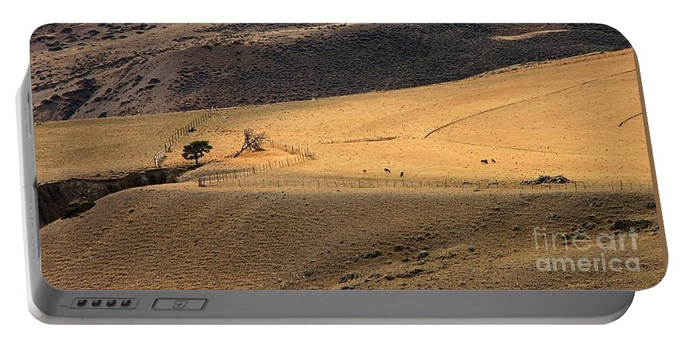 Landscape Portable Battery Charger featuring the photograph All Alone by Roland Stanke