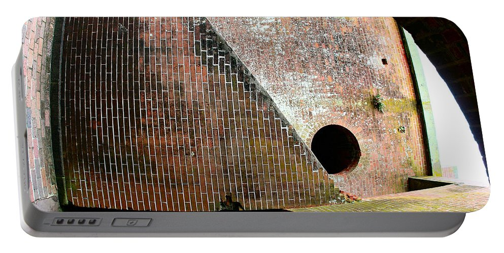 Ruins And Historical Portable Battery Charger featuring the photograph All Mixed Up by Greg Wells