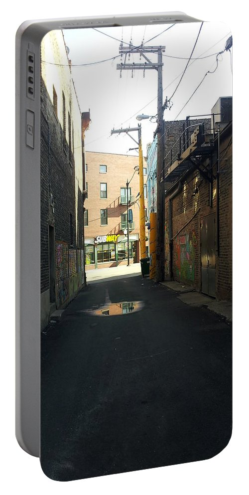 Street Art Portable Battery Charger featuring the photograph Alley 40 by Zac AlleyWalker Lowing