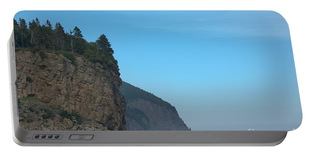 Portable Battery Charger featuring the photograph Alma's Edge by Cheryl Baxter
