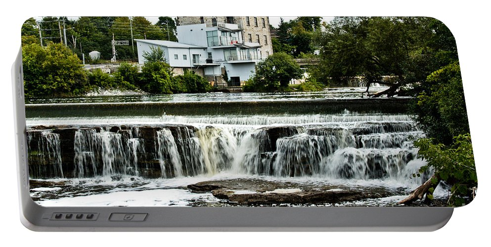 Portable Battery Charger featuring the photograph Almonte In Late Summer by Cheryl Baxter