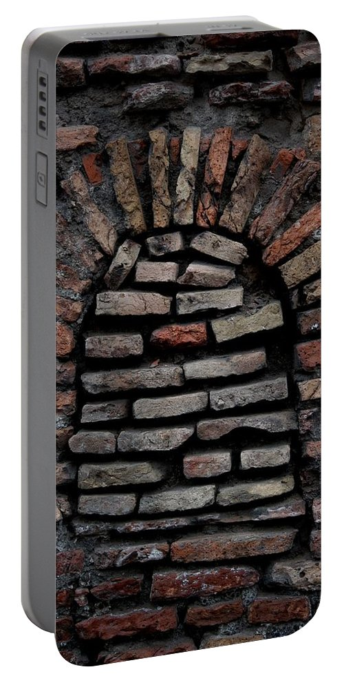 Bricks Portable Battery Charger featuring the photograph Along The Way by Joseph Yarbrough