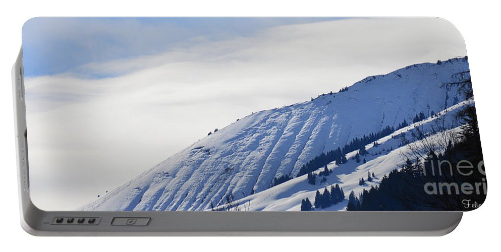 Alps Portable Battery Charger featuring the photograph Alps Profile by Felicia Tica