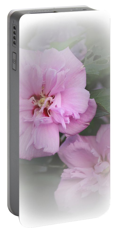 Althea Portable Battery Charger featuring the photograph Althea by Karen Beasley