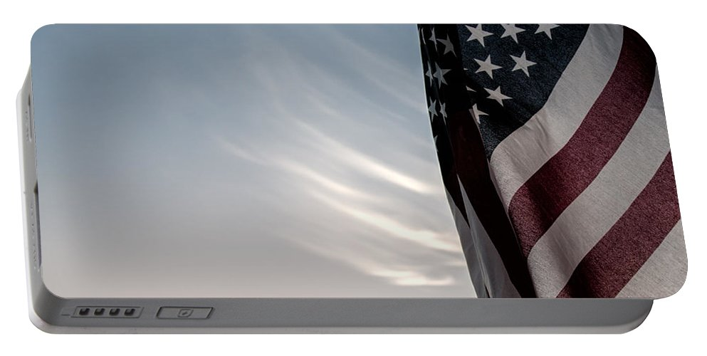 America Portable Battery Charger featuring the photograph America by Peter Tellone